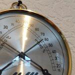 Hygrometer relative Luftfeuchte Piano
